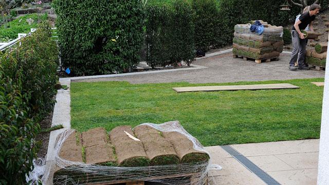 Bont Gartenbau – Umbauarbeiten
