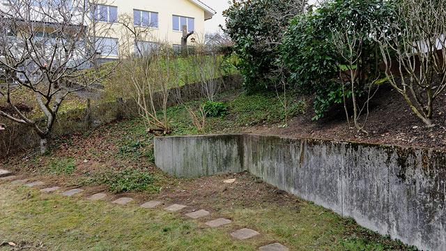 Bont Gartenbau –vorher